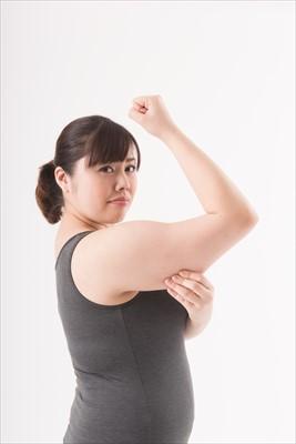 毛孔性苔癬と肥満の関係