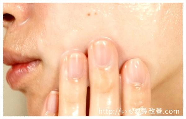 洗顔はジェルか濃密泡でゆっくりと洗う
